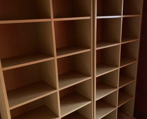 木製の収納ボックス