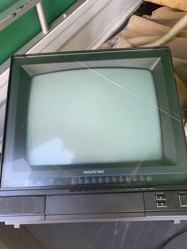 ブラウン管テレビの回収処分