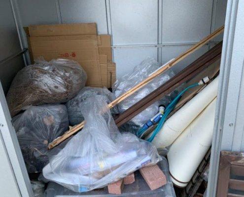 物置の不用品回収