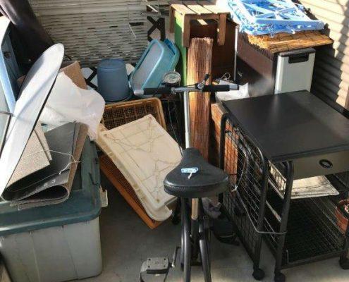 粗大ゴミの回収と処分