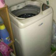 古い洗濯機の回収