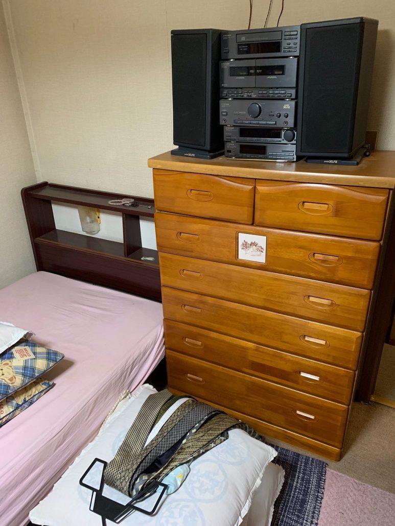 家具やオーディオ機器