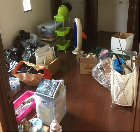 賃貸マンションの退居に伴う不用品をまとめて回収