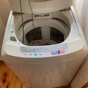 ナショナル製の洗濯機