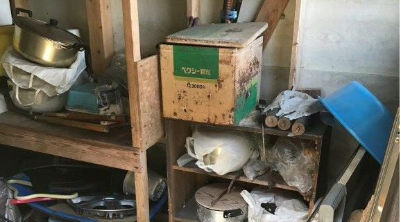倉庫(物置)の不用品回収