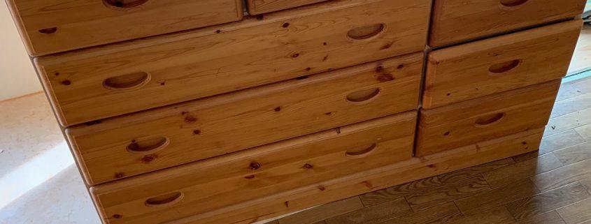 木製の箪笥