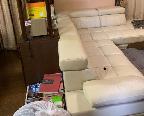 大きいソファの処分