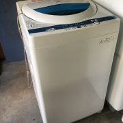 東芝製の洗濯機