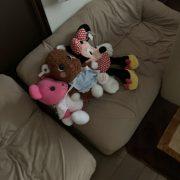 布製のソファー