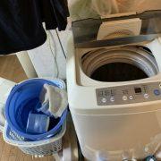 不要になった洗濯機