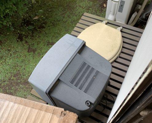 ブラウン管テレビなどの粗大ゴミ