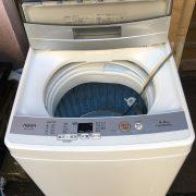 アクア製の洗濯機